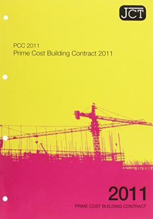 JCT:Prime Cost Building Contract 2011