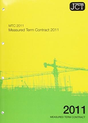 JCT:Measured Term Contract 2011