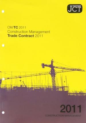 JCT: Construction Management Trade Contract 2011