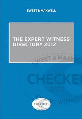 The Expert Witness Directory 2012
