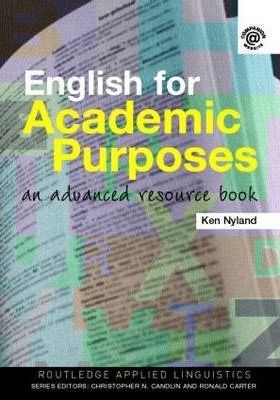 English for Academic Purposes : An Advanced Resource Book