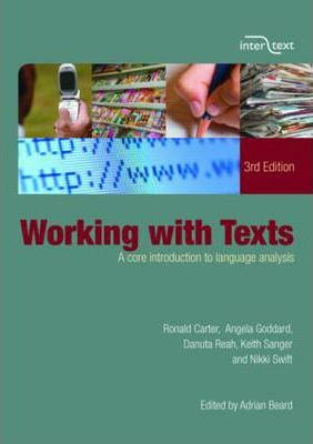 Working with Texts : A Core Introduction to Language Analysis