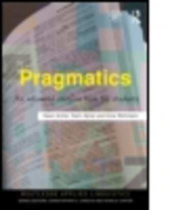 Pragmatics : An Advanced Resource Book for Students