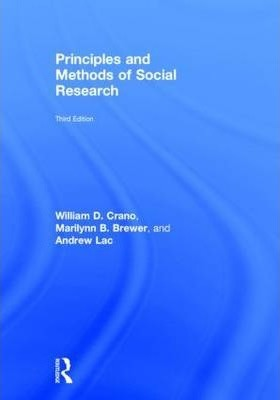 Principles and Methods of Social Research