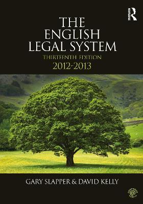 The English Legal System 2012-2013