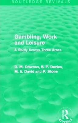 Gambling, Work and Leisure