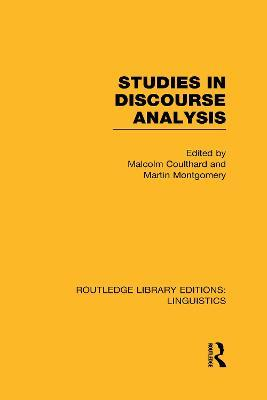 Studies in Discourse Analysis