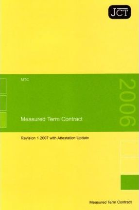 JCT:Measured Term Contract