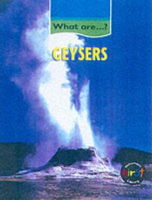 What Are: Geysers Paper