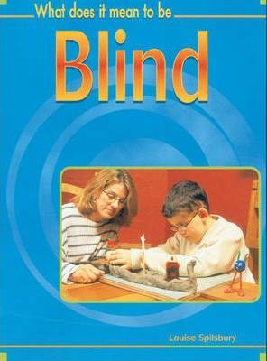What Does it Mean to Be? Blind Hardback
