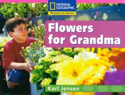 National Geographic Reception Pink Independent Reader Flowers for Grandma