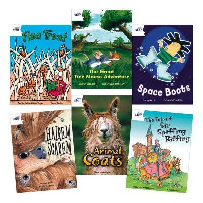 Star Reading White Level Pack (5 Fiction and 1 Non-Fiction Book)