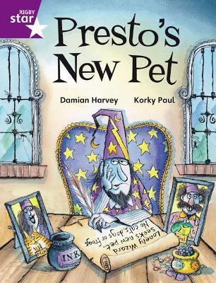 Rigby Star Independent Purple Reader 2: Presto's New Pet