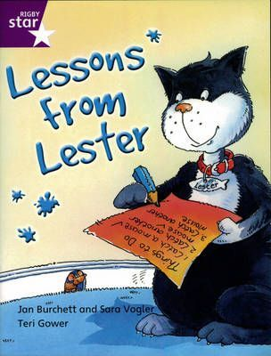 Rigby Star Indep Yr 2/P3 Purple Level: Lessons from Lester (3 Pack)