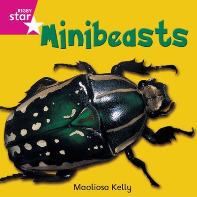 Rigby Star Independent Reception/P1 Pink Level: Minibeasts (3 Pack)