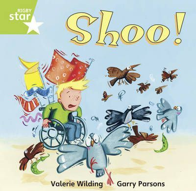 Rigby Star Independent Yr 1/P2 Green Level:Shoo! (3 Pack)