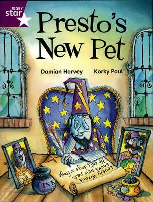 Rigby Star Independent Year 2/3P3 Purple Level: Presto's New Pet