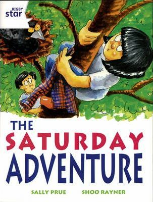 Rigby star Indep Year 2/P3 White Level: The Saturday Adventure (3 Pack)