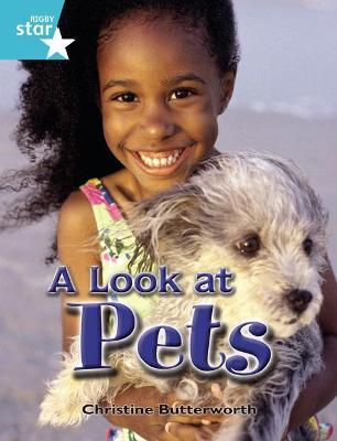 Rigby Star Independent Year 2 Turquoise Non Fiction: A Look at Pets Single
