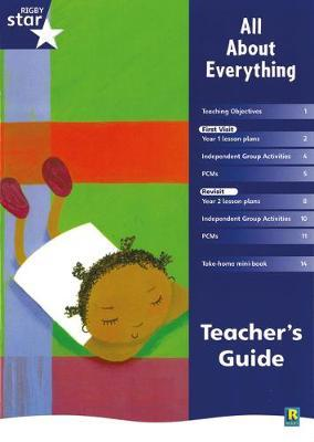 Rigby Star Shared Year 1 Fiction: All About Everything Teachers Guide