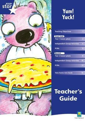 Rigby Star Shared Year 1 Fiction: Yum Yuck Teachers Guide