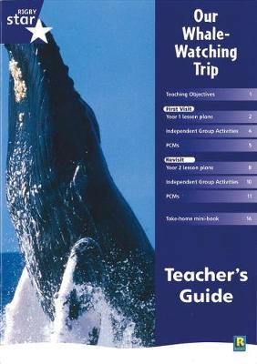 Rigby Star Shared Year 1 Non-Fiction: My Whale Watching Trip