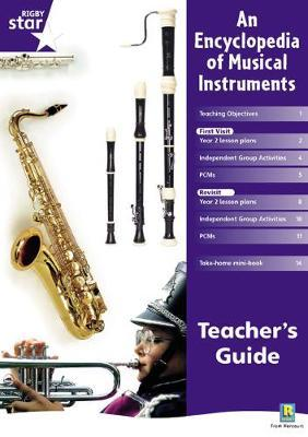 Rigby Star Shared Year 2 Non-Fiction: Encyclopedia of Musical Instruments Teachers Guide