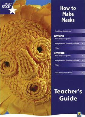 Rigby Star Shared Year 2 Non-fiction: How to Make Masks Teachers Guide