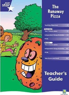 Rigby Red Giant 1, The Runaway Pizza Teacher's Guide