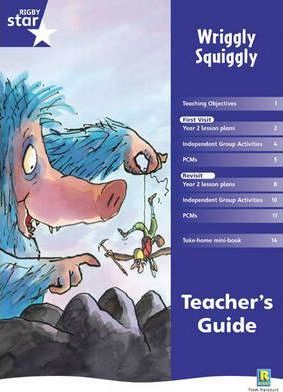 Rigby Red Giant 2, Wriggly Squiggly Teacher's Guide