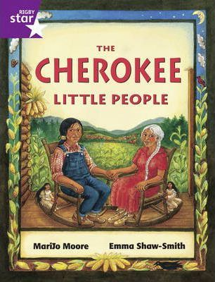 Rigby Star Guided 2/P3 Purple Level: The Cherokee Little People 6pk