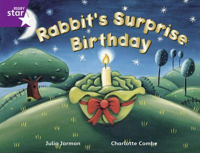 Rigby Star Guided 2/P3 Purple Level: Rabbit's Surprise Birthday 6pk