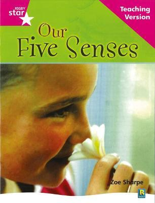 Rigby Star Non-fiction Guided Reading Pink Level: Our Five Senses Teaching Version