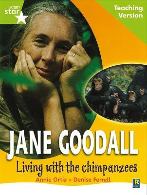 Rigby Star Guided Lime Level: Jane Goodall Teaching Version