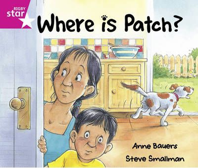 Rigby Star Guided: Reception/P1 Pink Level: Where is Patch? Pack of 6 Framework Edition