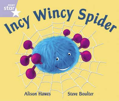 Rigby Star Phonic Opposites Lilac Level: Incy Wincy Spider Pack of 6 Framework Edition