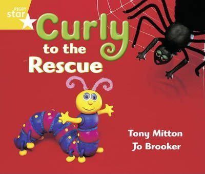 Rigby Star Guided Year 1/P2 Yellow Level: Curly to the Rescue (6 Pack) Framework Edition