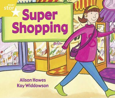Rigby Star Guided Year 1/P2 Yellow Level: Super Shopping (6 Pack) Framework Edition