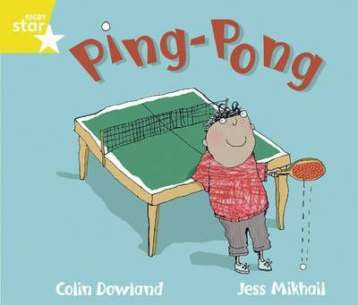 Rigby Star Guided Phonic Year 1/P2 Yellow: Ping Pong (6 Pack) Framework Edition