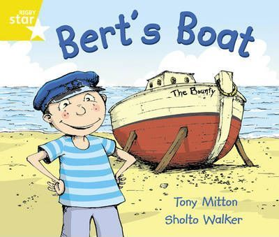 Rigby Star Guided Year 1/P2 Yellow: Bert's Boat (6 Pack) Framework Edition