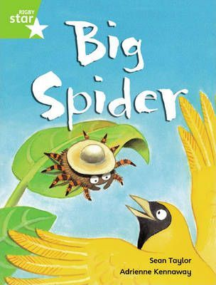 Rigby Star Guided Phonic Opportunity Readers Green: Big Spider (6 Pack) Framework Edition