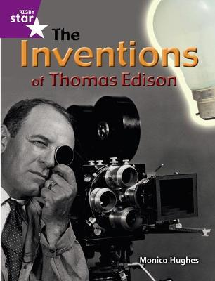 Rigby Star Guided Quest Purple: The Inventions Of Thomas Edison Pupil Book (Single)