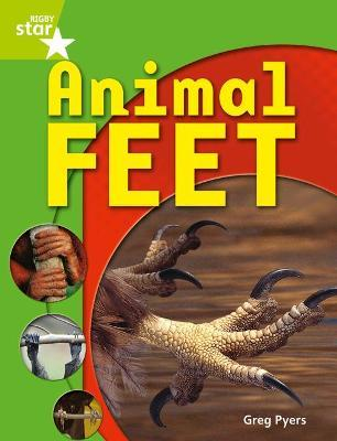 Rigby Star Guided Quest Year 1 Green Level: Animal Feet Reader Single