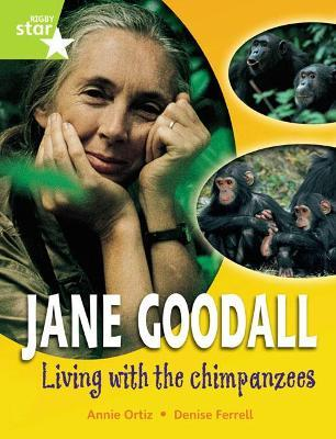 Rigby Star GUI Quest Year 2 Lime Level: Jane Goodall: Living with Chimpanzees Reader Sgle
