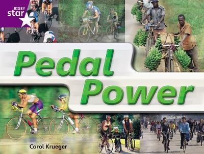 Rigby Star Guided Year 2: Purple Level: Pedal Power Gui Reading Pk Framework Edition