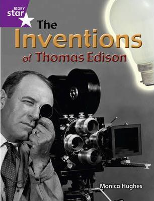 Rigby Star Guided Year 2: The Inventions of Thomas Edison ( 6 Pack) Framework Edition