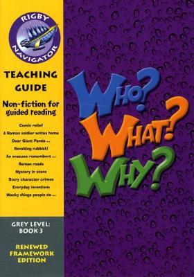 Navigator FWK: Who? Why? What? Teaching Guide