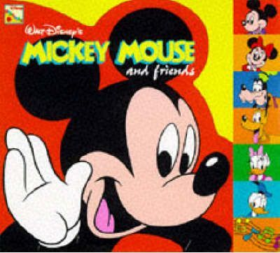 Happy Birthday Mickey Mouse Tab Index Book