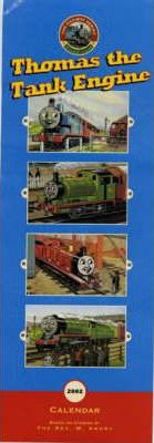 Thomas the Tank Engine Slim Calendar 2002