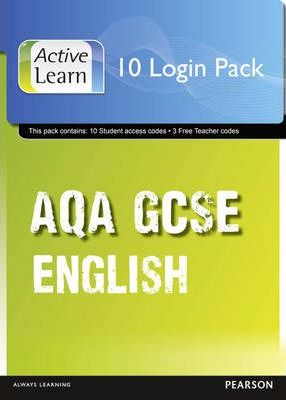 AQA GCSE English and English Language ActiveLearn 10 User Pack